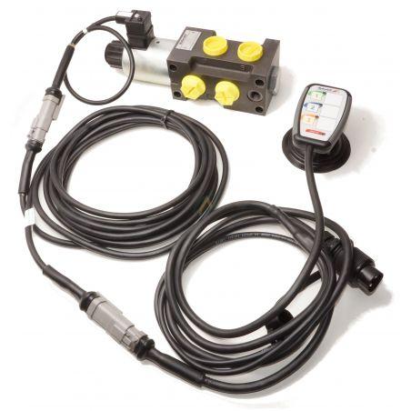 Sélecteur de fonctions empilables 12V 80l/min avec boitier électronique