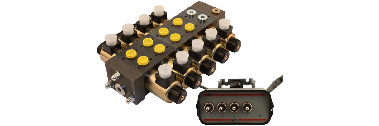 Distributeur Electro Hydraulique Cetop Compact