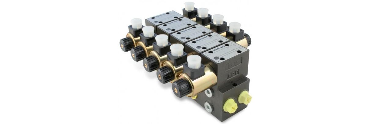 Distributeur électro-hydraulique cetop 5.
