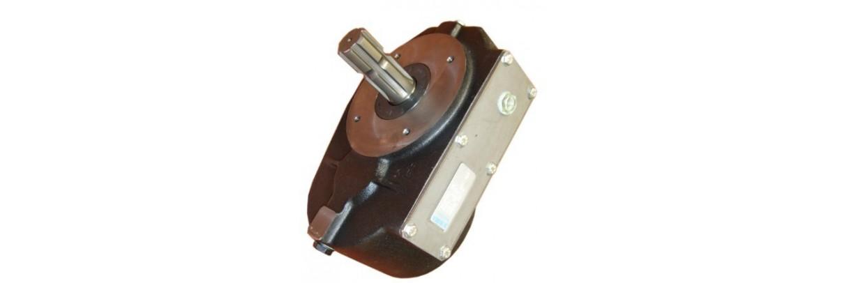 Multiplicateur ou réducteur pour arbre de prise de force agricole