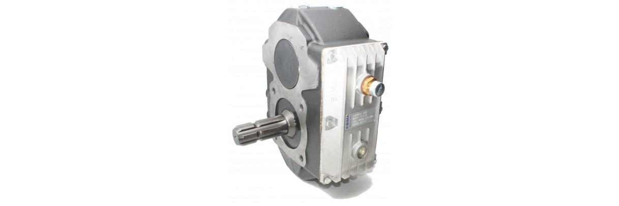 Boitier multiplicateur pour pompe hydraulique groupe 2 et 3 SAE