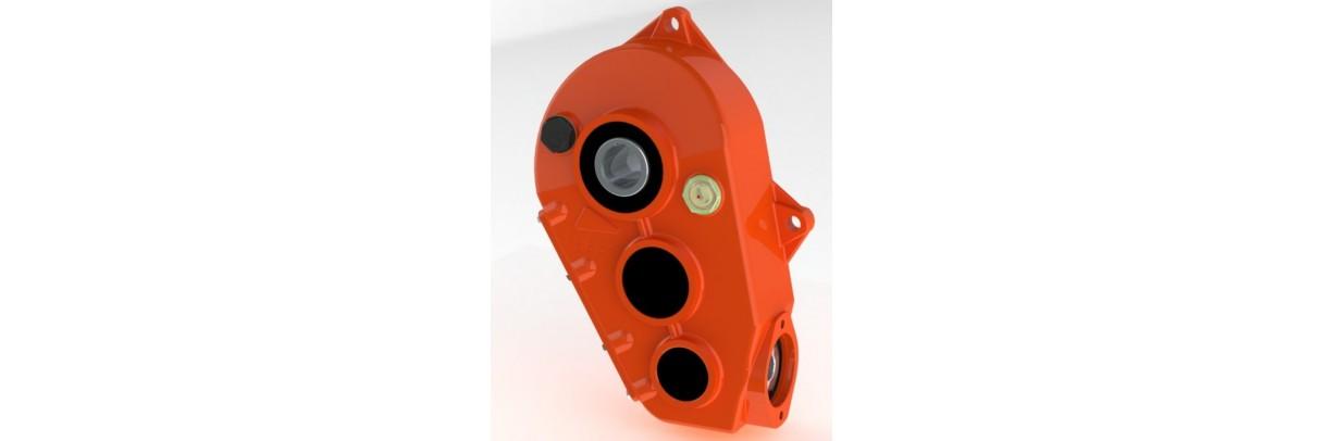 Boitier réducteur en fonte pour moteur type OMP OMR