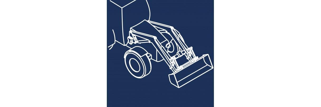 Distribution hydraulique pour Chargeur frontal