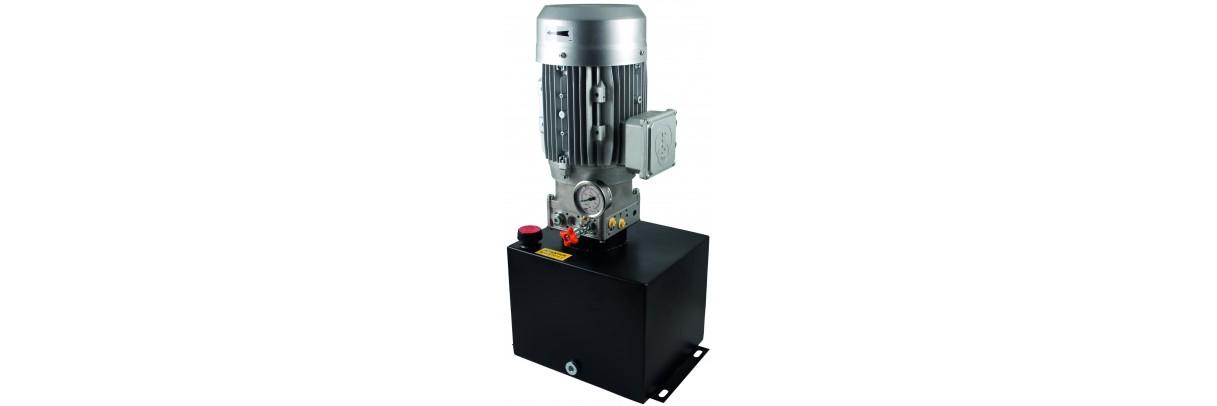 Gamme de centrales hydrauliques complètes ou composants pour centrale