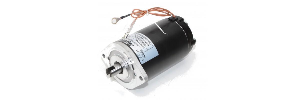 Moteur électrique courant continu, courant alternatif pour centrales hydrauliques