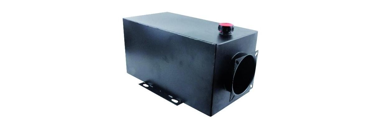 Réservoirs hydrauliques pour centrales ou groupes
