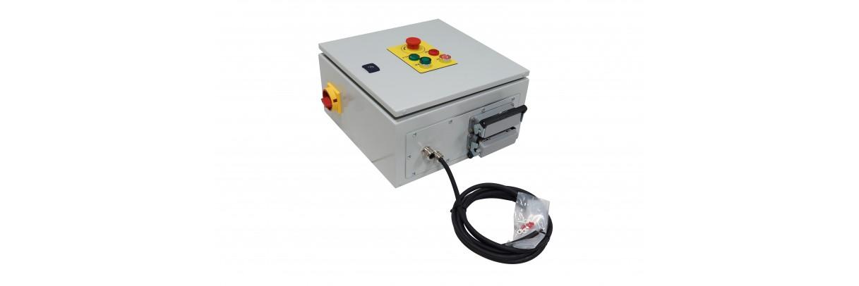 Équipement, Armoires électrique triphasées pour centrale hydraulique