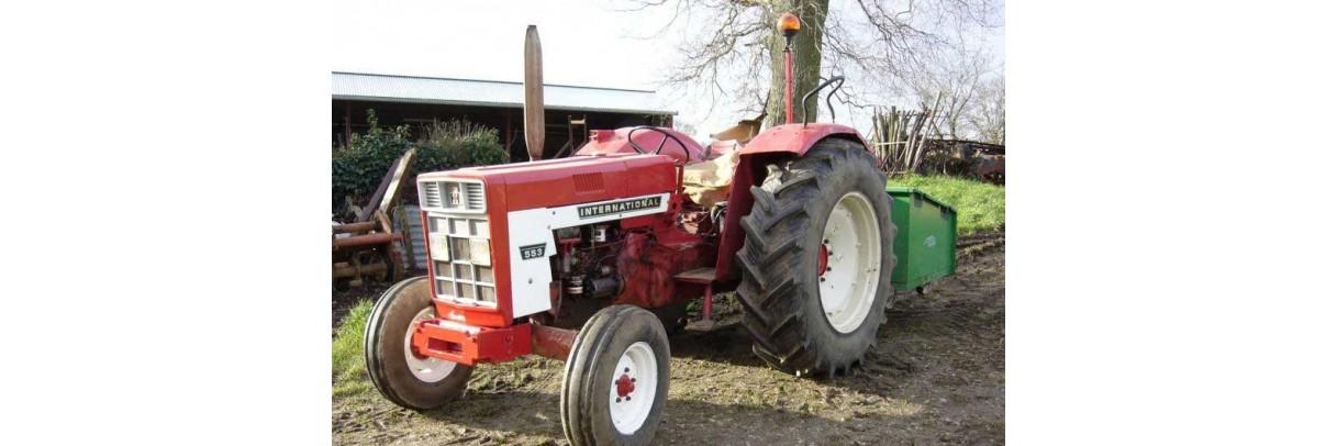 Pompes hydrauliques pour tracteur CASE IH série 500