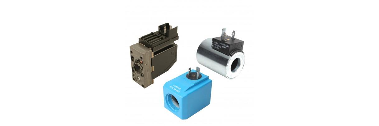 Bobines électriques pour distributeurs  hydrauliques