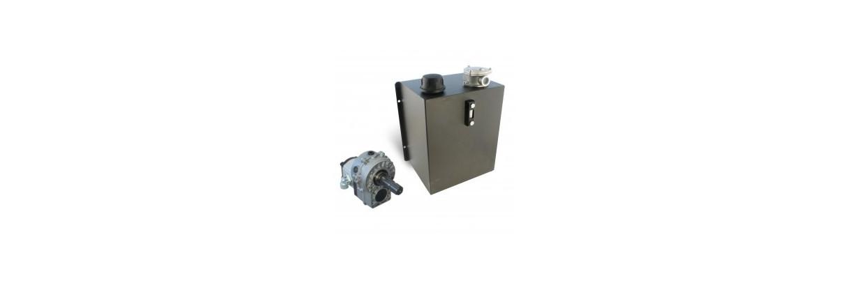 Centrale et groupe hydraulique sur prise de force 540 tr/min
