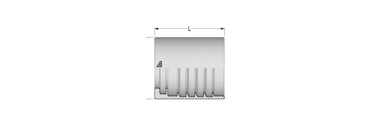 Jupes à sertir pour flexibles hydrauliques