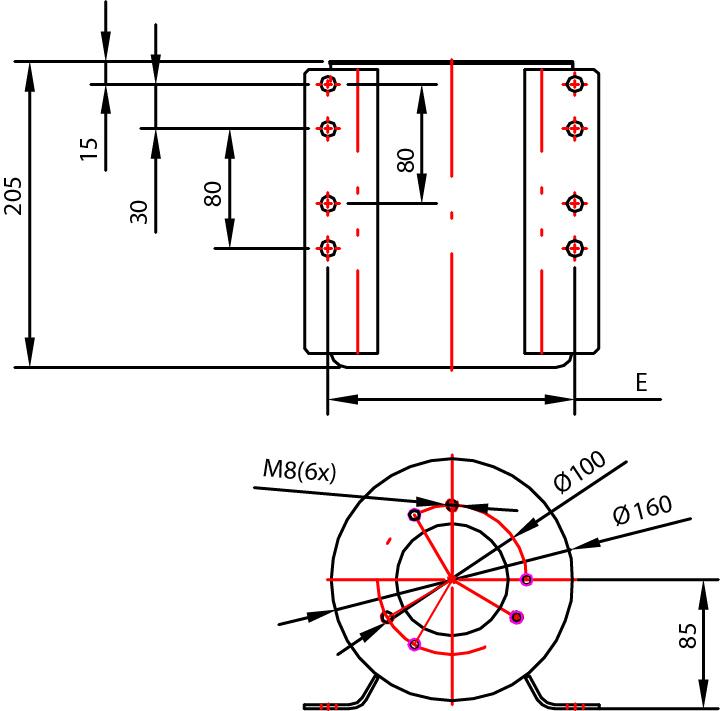 Réservoir 4 litres pour pompe hydraulique manuelle