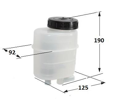 reservoir PVC avec filtre 0.5L