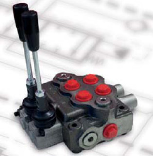 Distributeur hydraulique à 2 fonctions