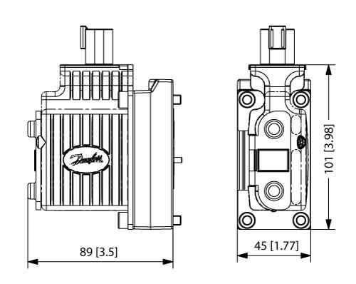 Schema bobine Danfoss PVEA