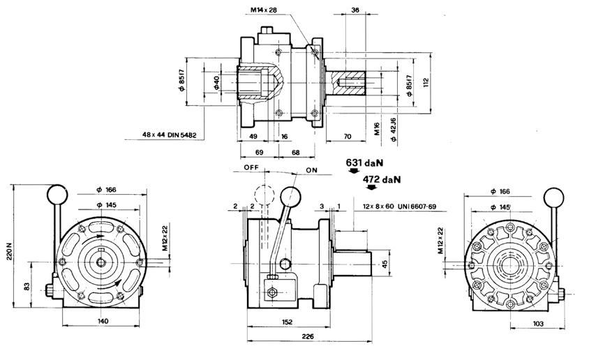 Embrayage groupe 3 60 kW