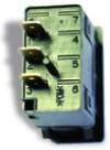 Interrupteur à bascule unipolaire