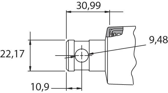 Dimension colonne ZF