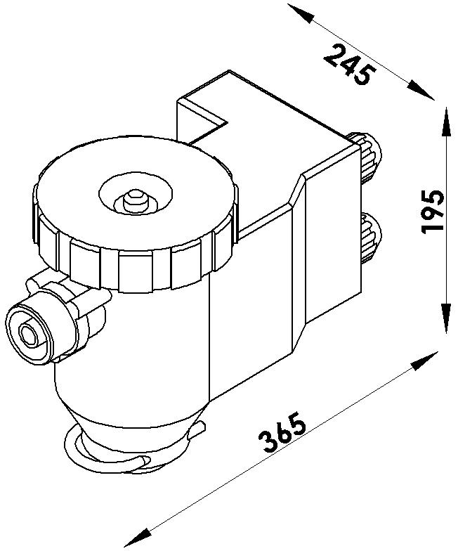 Schéma regulateurs electrique 300l/min pulvérisateur