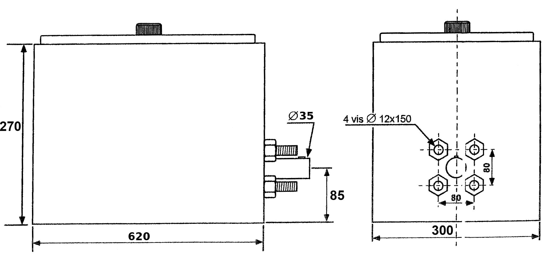 Schéma compresseur de bennage 18 a 24 T