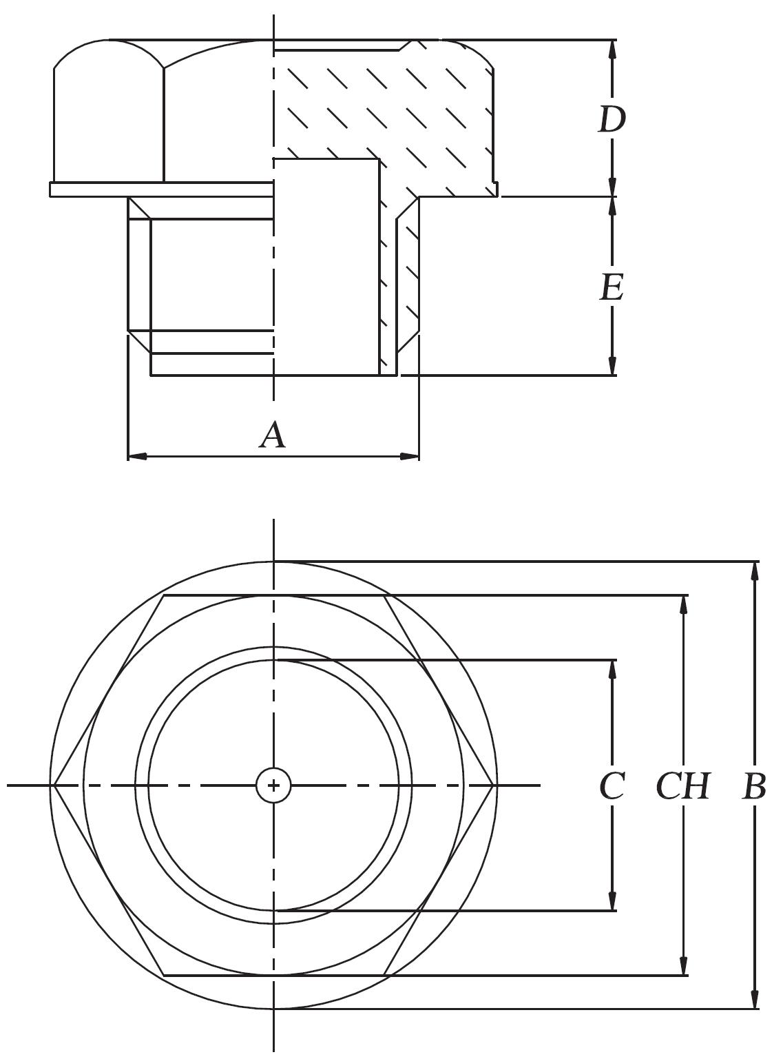 niveau visuel polyamide