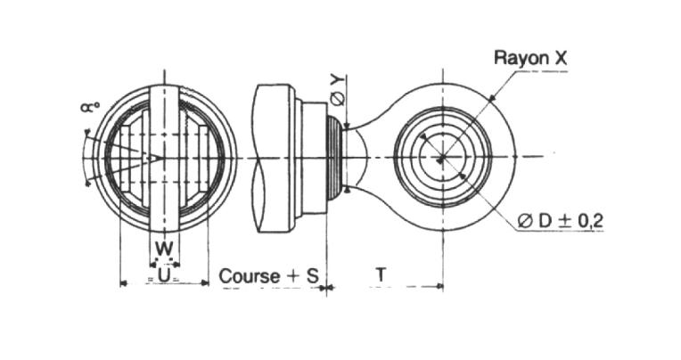 Schéma rotules agricoles rondes
