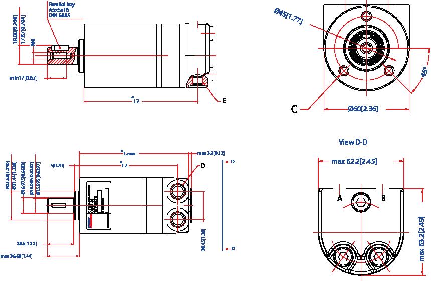 moteurs hydrauliques type omm semi